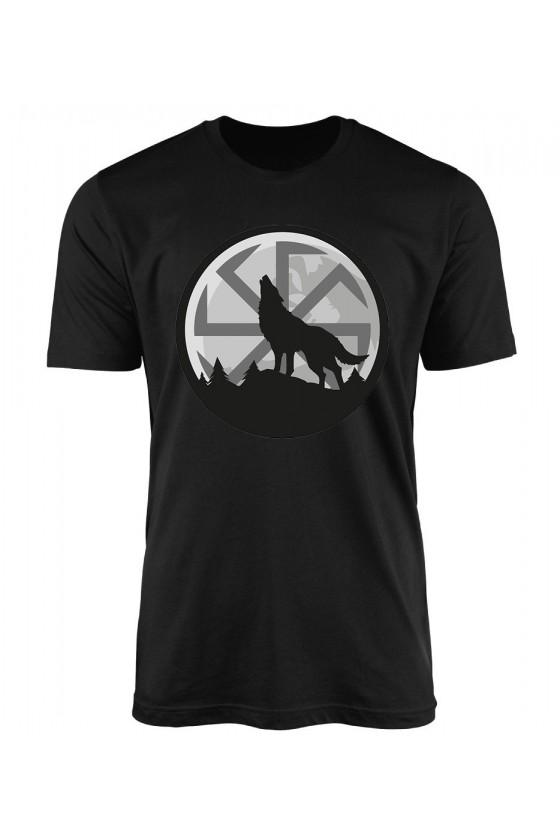 Koszulka Męska Wilk