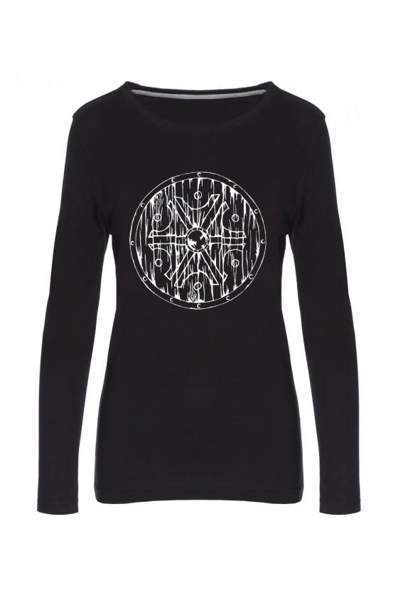 Koszulka Damska Longsleeve Symbol Peruna Tarcza