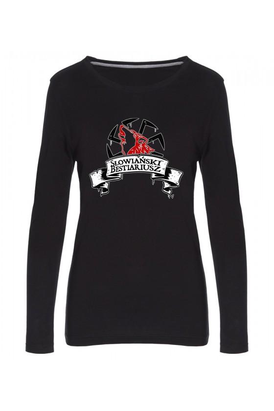 Koszulka Damska Longsleeve Logo Słowiański Bestiariusz