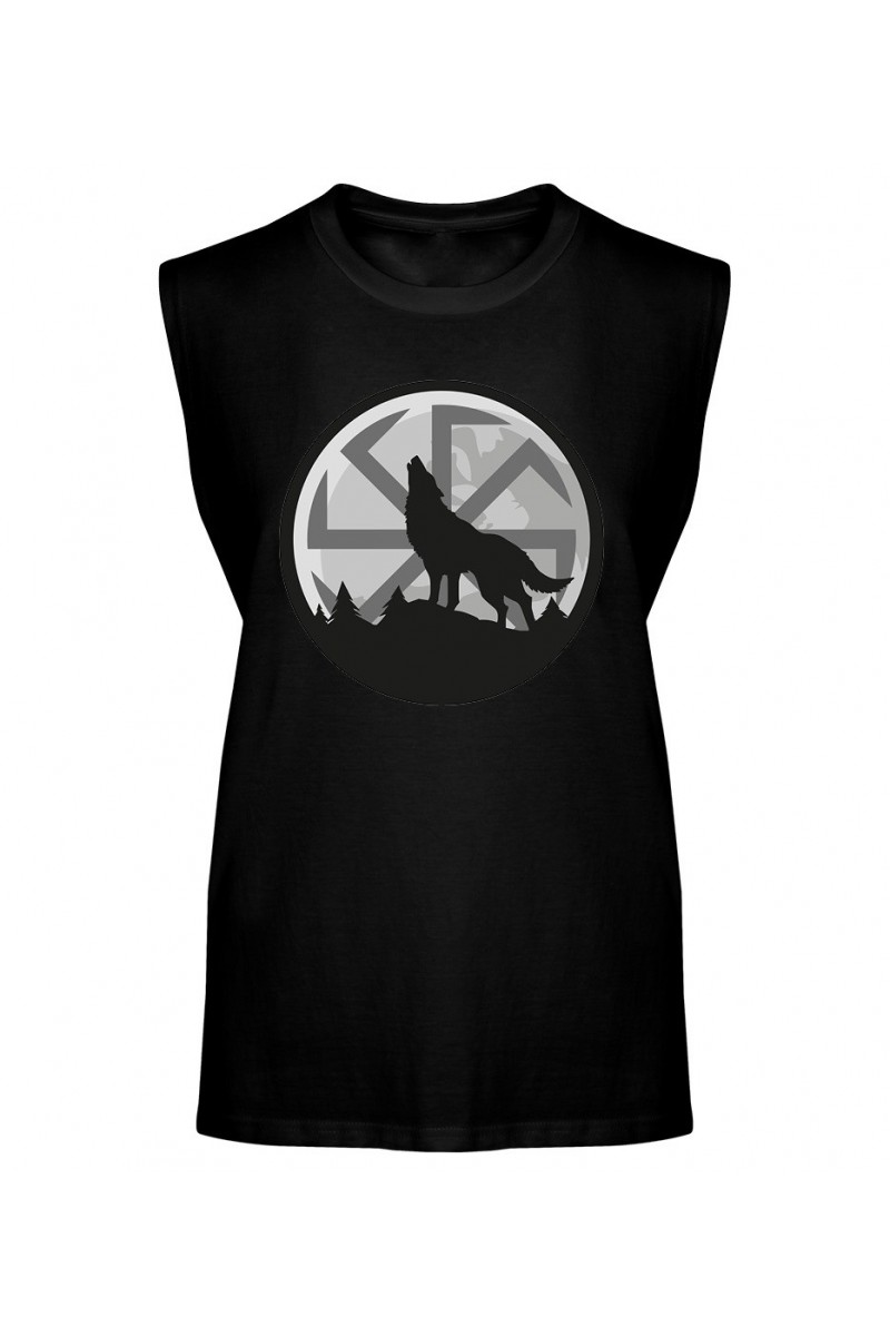 Koszulka Męska Tank Top Wilk