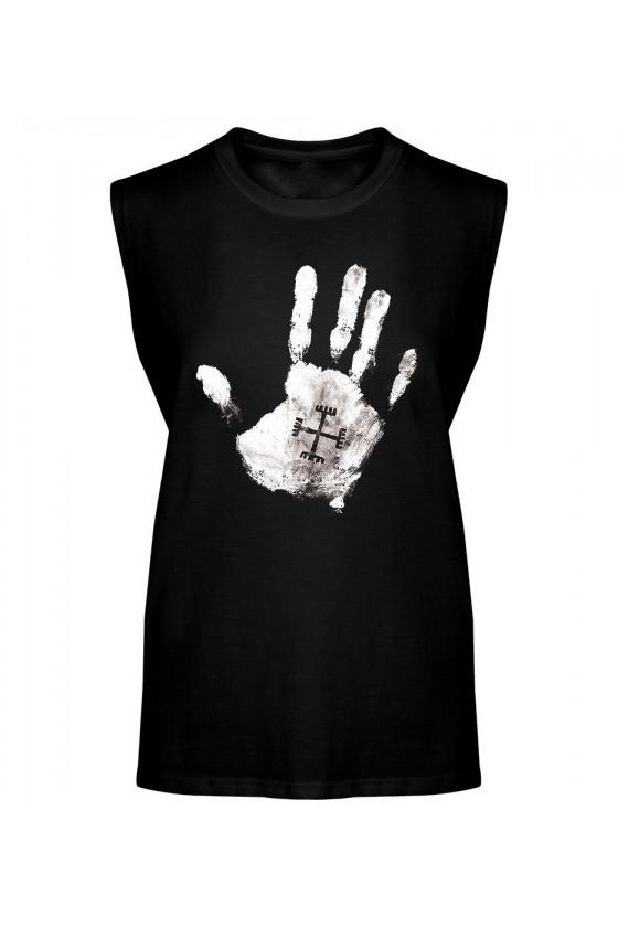 Koszulka Męska Tank Top Ręce Boga Dłoń