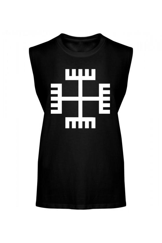 Koszulka Męska Tank Top Ręce Boga III