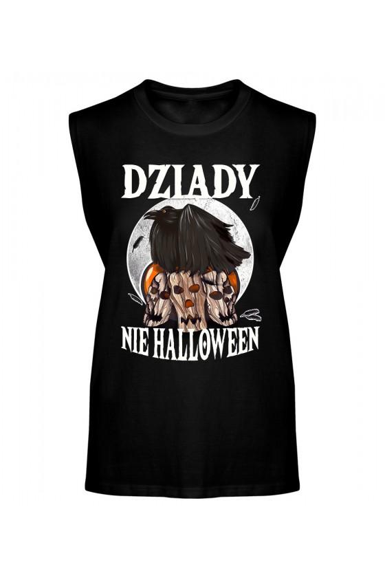 Koszulka Męska Tank Top Dziady, Nie Halloween