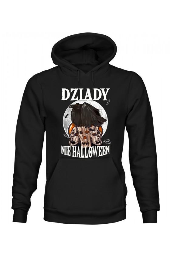 Bluza Męska z Kapturem Dziady, Nie Halloween
