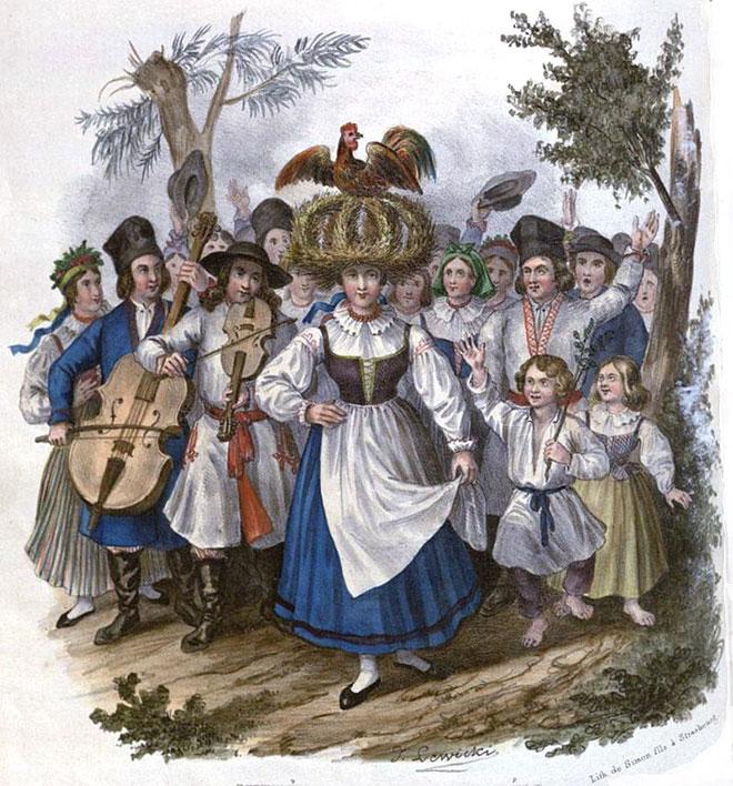 LEWICKI Jan Nepomucen. Okrężne w Sandomierskiem. 1841